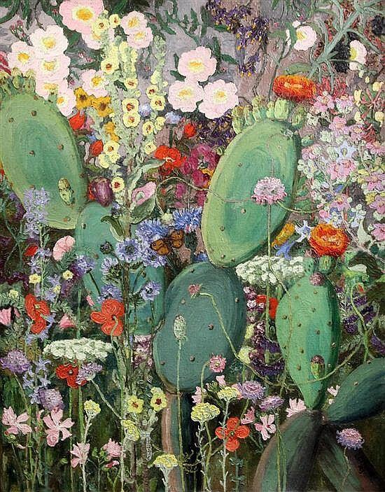 Sir Cedric Morris (1889-1982) 'Les Fleurs du Midi 1923'