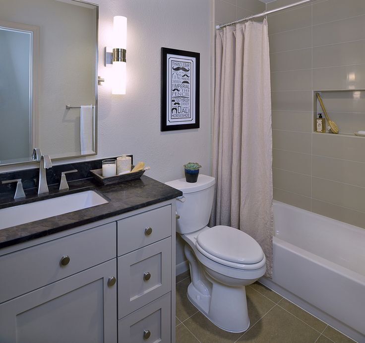 Photo Album Gallery Before u After A Bachelor us Dated Bathroom Gets a Contemporary Refresh