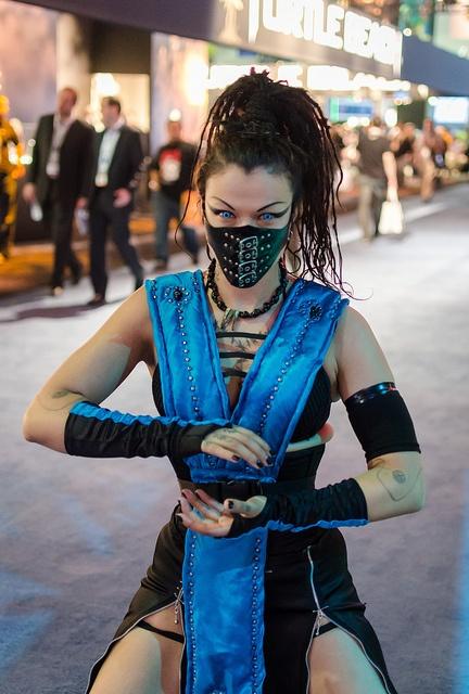 for alternative Frost - Subzero, Mortal Kombat cosplay