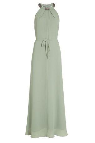 bdba vestido largo en verde menta petit passion outlet que sale por 189 euros