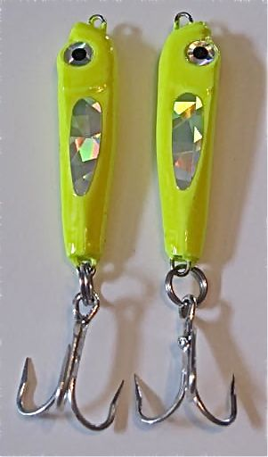 SSS Slab Spoon is a small lure that matches the hatch of tiny bait fish!  One size and color!  Discount Fishing Tackle at Moe's TU!  Better Fishing : Less Money!