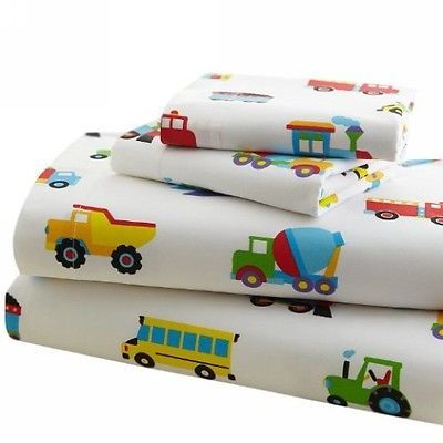 Kids at Home: Olive Kids Trains, Planes And Trucks Toddler Sheet Set By Wildkin - 92410 BUY IT NOW ONLY: $39.99