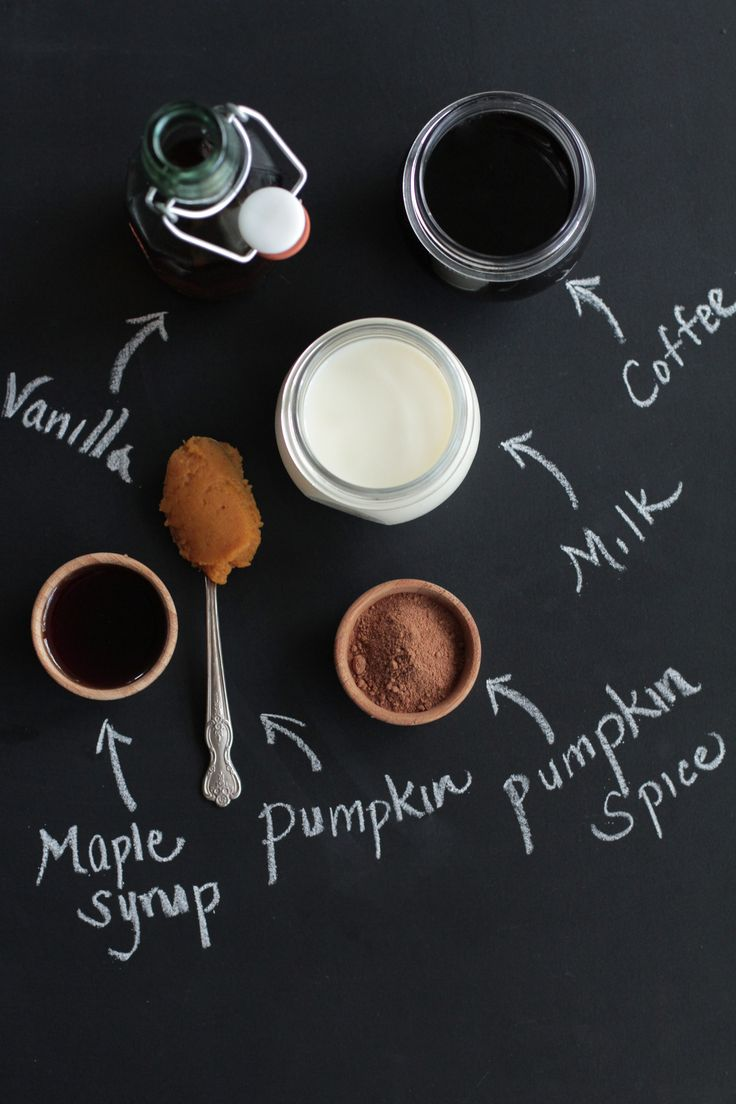 homemade real food pumpkin spice latte