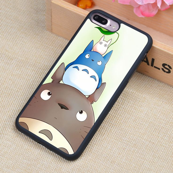 Buy Totoro Clear Phone Case - Free Shipping Worldwide