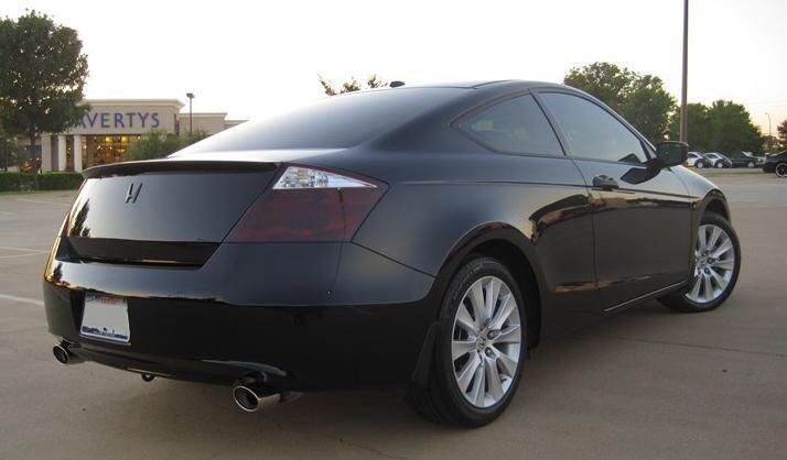Blacked out tail lights for a Honda Accord coupe I need these