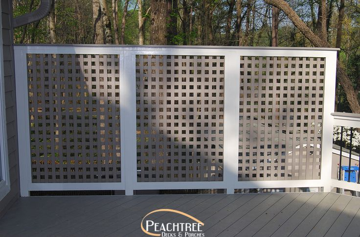 38 best images about board fences on pinterest brick for Lattice panel privacy screen