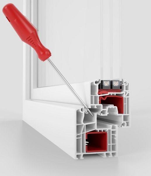 safetec inside  Für besten - Einbruchschutz im Fensterrahmen