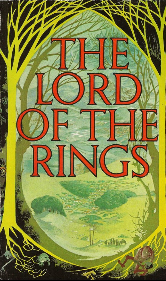 Jrr Tolkien  The Lord Of The Rings  1968; Cover Art By Pauline Baynes