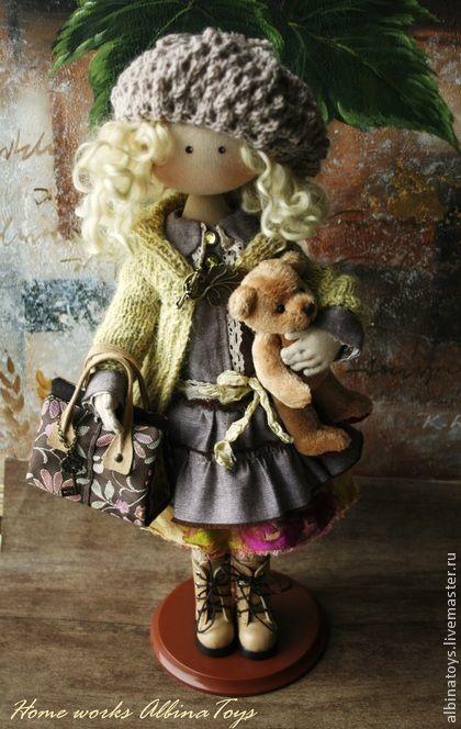 Коллекционные куклы ручной работы. Ярмарка Мастеров - ручная работа Коллекционная кукла Иоланда.. Handmade.