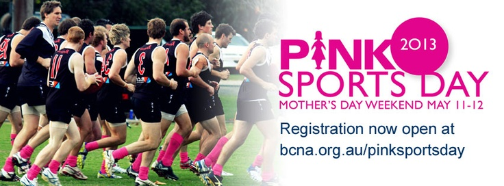 Pink Sports Day 2013 - registrations now open!