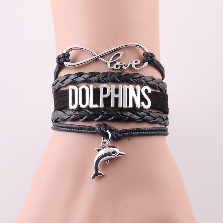 Infinity Bracelet - Dolphins
