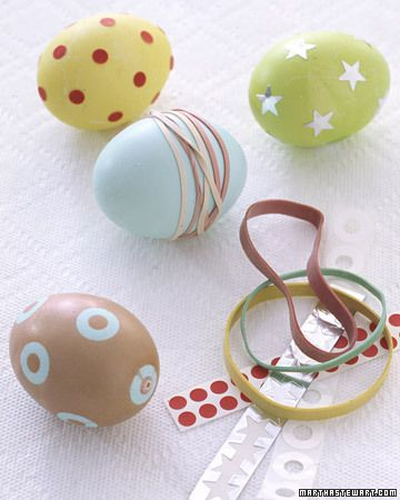Egg coloring ideas...