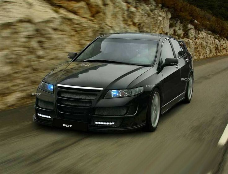 Honda Accord FRONT TAIL BUMPER SIDE SWITCH Body Kit