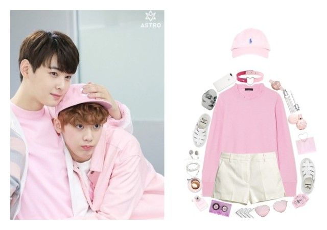 """""""Astro vip meet"""" by parkeunseo on Polyvore featuring J.Crew, H&M, Dr. Martens, Prada, Baby-G and Olivia Burton"""