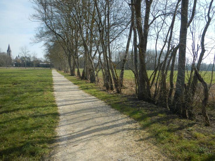 Le chemin Loches-Beaulieu-les-Loches
