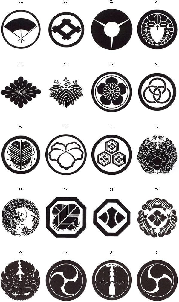 Crest List Japanese Crest Japanese Ornament Japanese Family Crest