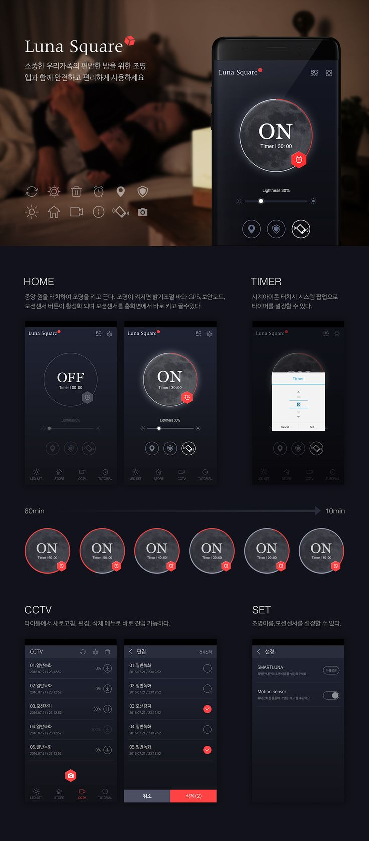 Mobile GUI Design, light, app