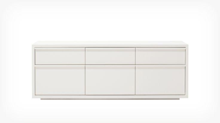 """Klere Tall Media Storage   EQ3 Modern Furniture - 58"""" x 18.5"""" x 21.2""""h - $999 (less 15% is $849.15)"""