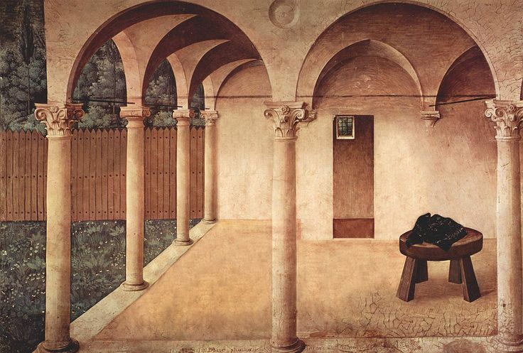 """celiahannes """" Fra Angelico The Annunciation 1438"""