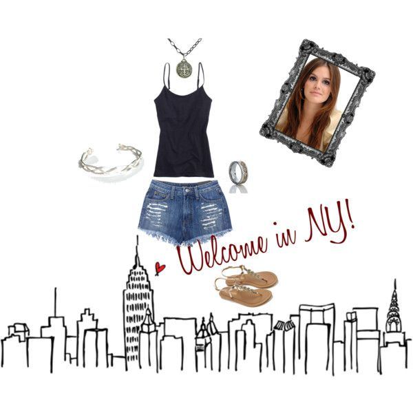 """Welcome in NY"" by darksoul29 on Polyvore"