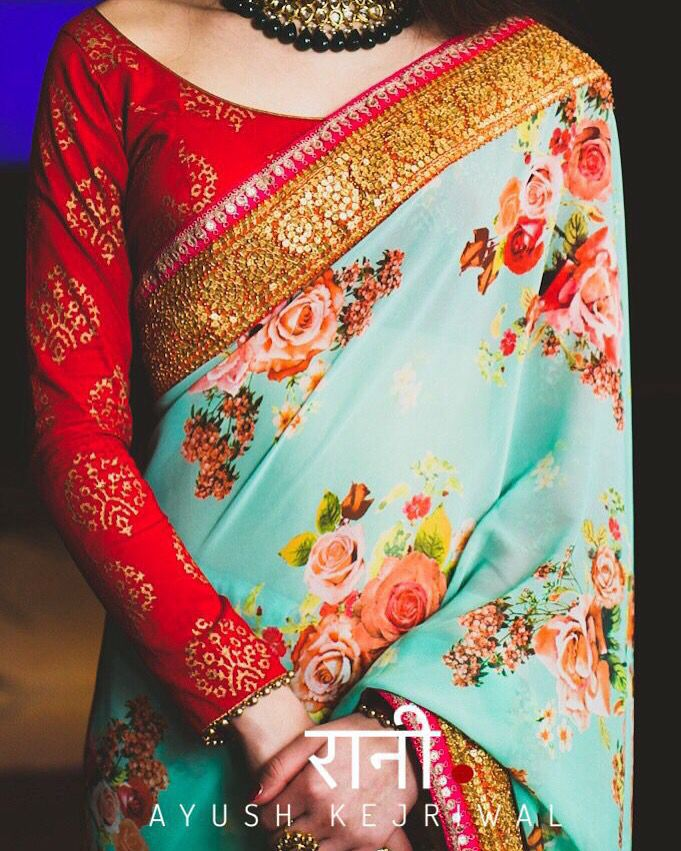 Saree by Ayush Kejriwal For purchases email me at designerayushkejriwal@hotmail.com or what's app me on 00447840384707 Instagram - designerayushkejriwal