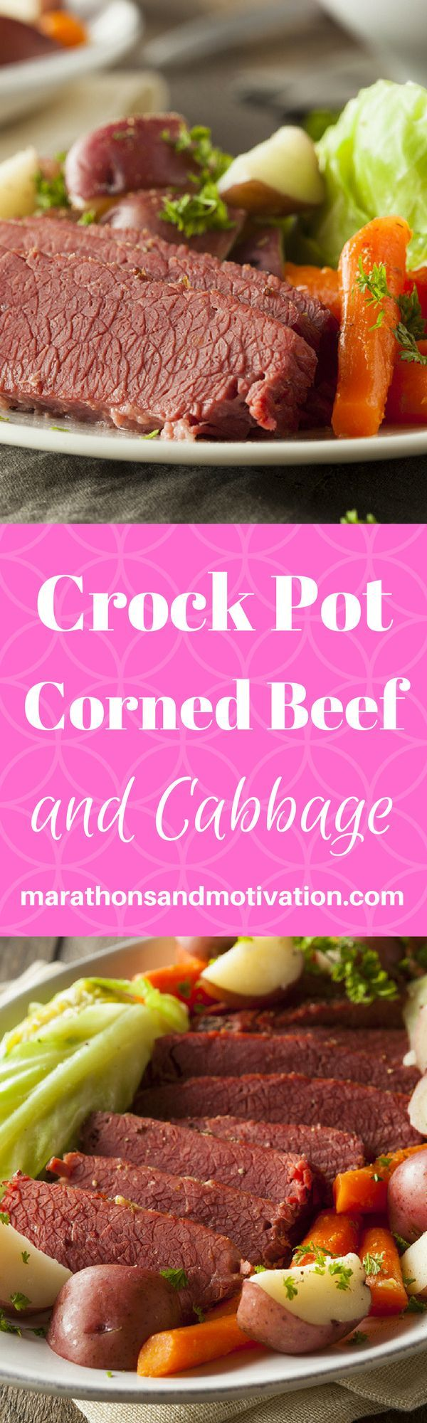 Crock Pot Corned Beef and Cabbage: The BEST Corned Beef and Cabbage recipe for a family meal or St. Patrick's Day Celebration