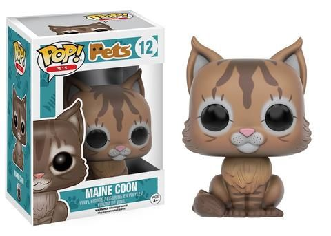 Funko Pop Pets: Maine Coon Cat Vinyl Figure (Pre-Order) - Galactic Toys & Collectibles - 1
