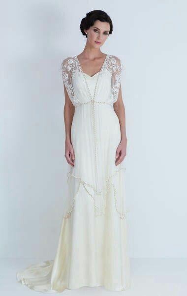 Vintage en tu vestido de novia