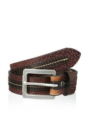 52% OFF Vintage Bison Men's Loretto Belt, Peanut, 30 US