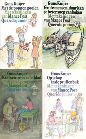 Guus Kuijer - de boeken van Madelief. ' Grote mensen daar kun je beter soep van koken' was mijn eerste en de titel krijg je niet meer uit je hoofd!