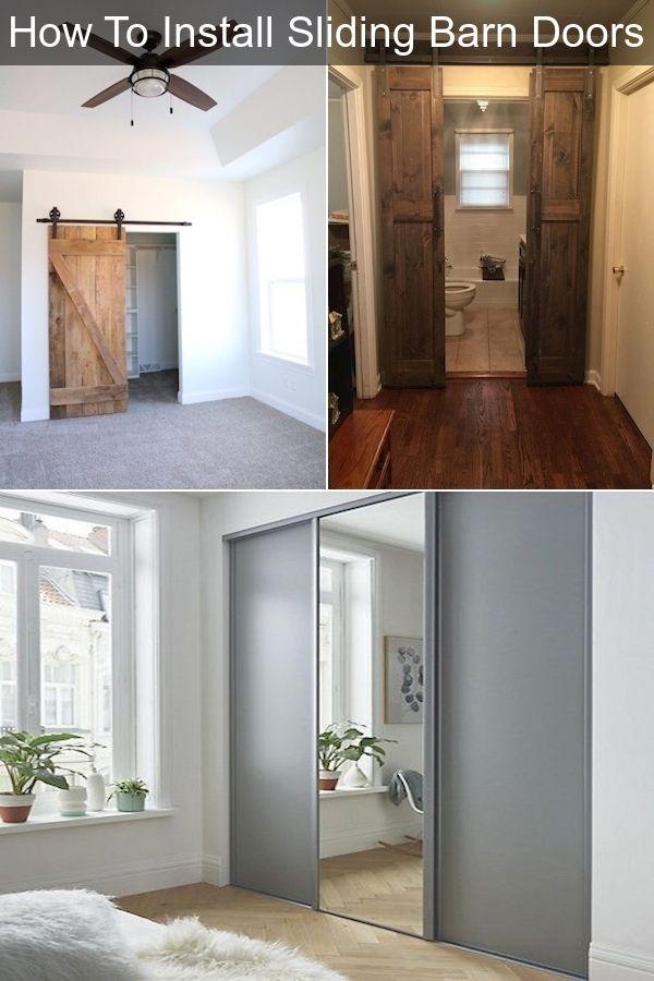Interior Sliding Barn Doors For Sale Large Sliding Doors Single Sliding Closet Door In 2020 Barn Doors Sliding Barn Door Doors