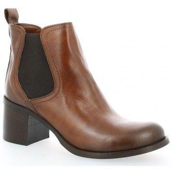 Fabrication: Italienne. Chaussant : - Couleur : Cognac - Chaussures Femme 119,00 €