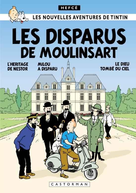 Les Aventures de Tintin - Album Imaginaire - Les Disparus de Moulinsart