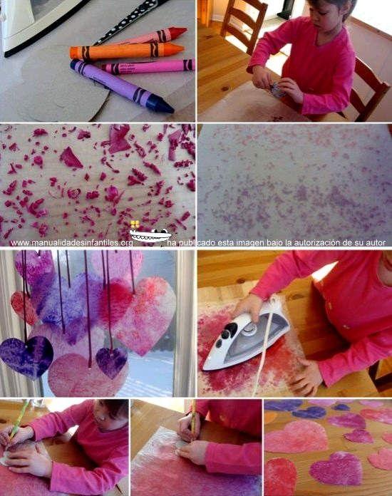 corazones de San Valentin: http://www.manualidadesinfantiles.org/corazones-de-san-valentin/