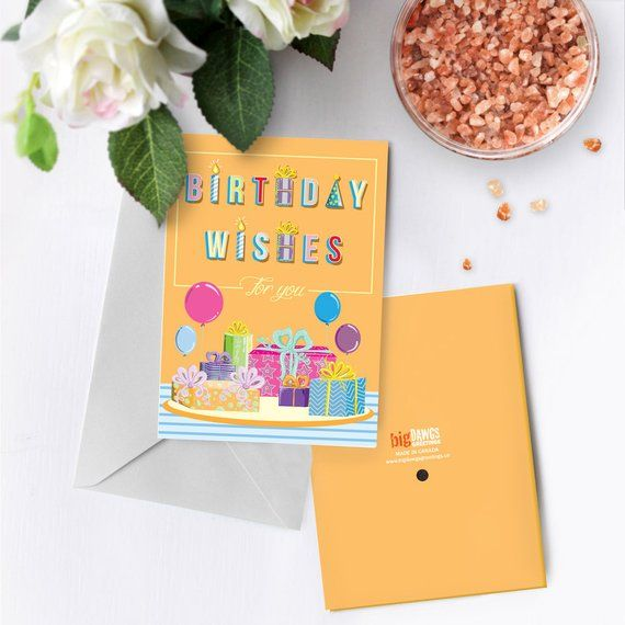 Birthday Wishes Greeting Card With Music Custom Birthday Etsy Birthday Wishes Greeting Cards Birthday Wishes Greetings Personalized Birthday Cards