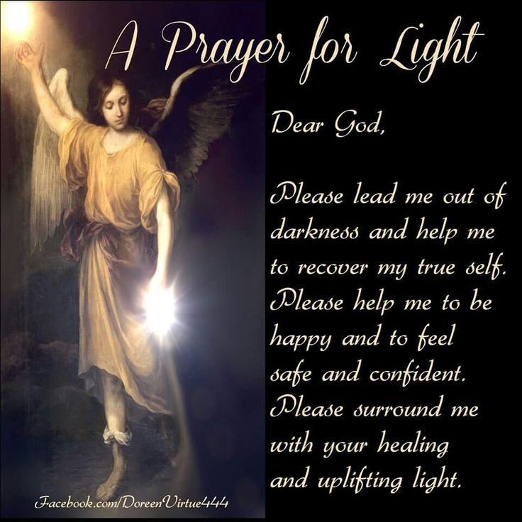 Prayer for light