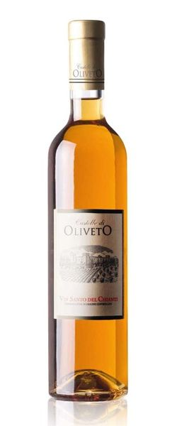 Vin Santo del Chianti - Castello Oliveto, Tuscany. Vin Santo is an Italian dessert wine made with dried grapes. It is best served with cantuccini