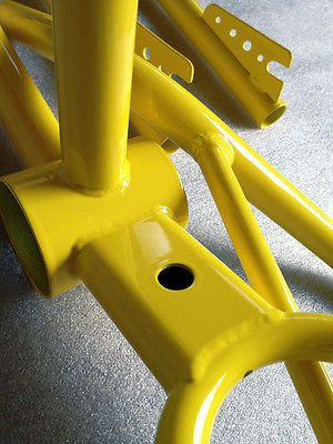 Super Durable Gloss Yellow Powder Coat Paint - 5 LBS FREE SHIPPING!