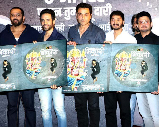 Photos: Bobby Deol, Swapnil Joshi, Rucha Inamdar at 'Bhikari' song launch - Entertainment  #middaybollywood #bollywoodmovies #newreleases #moviepromotions #bollywoodactors #bollywoodstars #bollywoodinstant #hindicinema #bollywoodupdates #bollywoodkida #movies