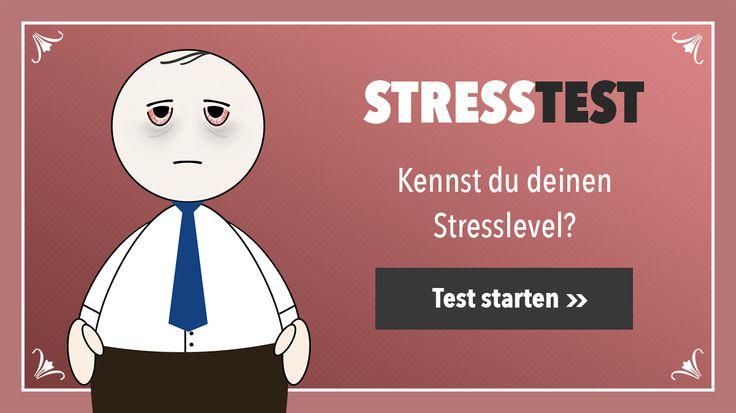 ...Jetzt wird mir so einiges klar! Hätte echt nicht gedacht, dass die Folgen von Stress so heftig sein können! Naja, testet es einfach mal selbst!Es klingt verrückt, aber Übergewicht, Schlafstörungen, Depressionen, Verdauungsprobleme uvm, können alles Symptome von ständigen Stress sein! Teste jetzt ob Du betroffen bist!