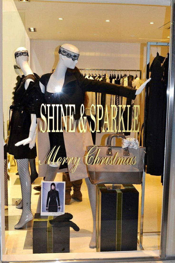 Guy Laroche shop window Athens store