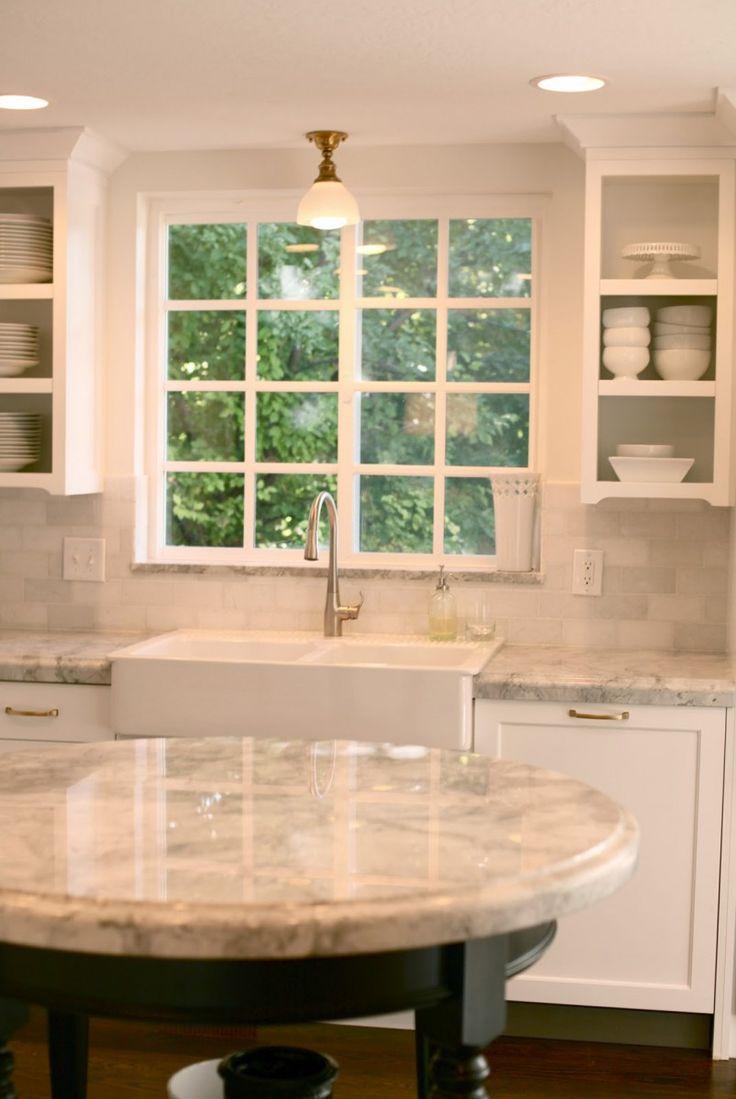 White Ceramic Farmhouse Sink : Farm Sink For Kitchens Ikea White Porcelain Kitchen Sink Grey Marble ...