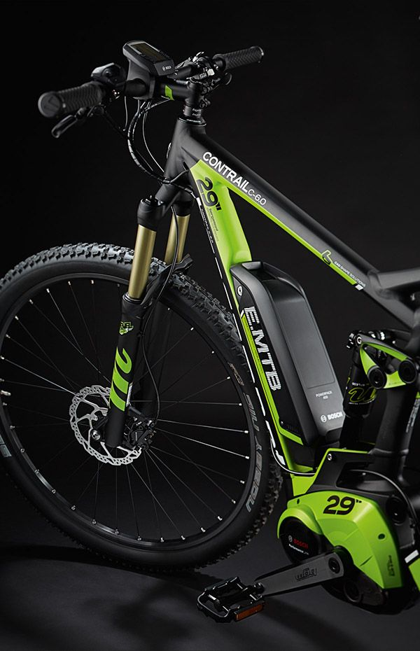 Coating- and decal design for the 2015 Contrail C Electric Mountain Bike by Bergamont Bicycles.