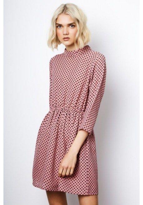 Compañia Fantastica – Pink Polka Dot Dress