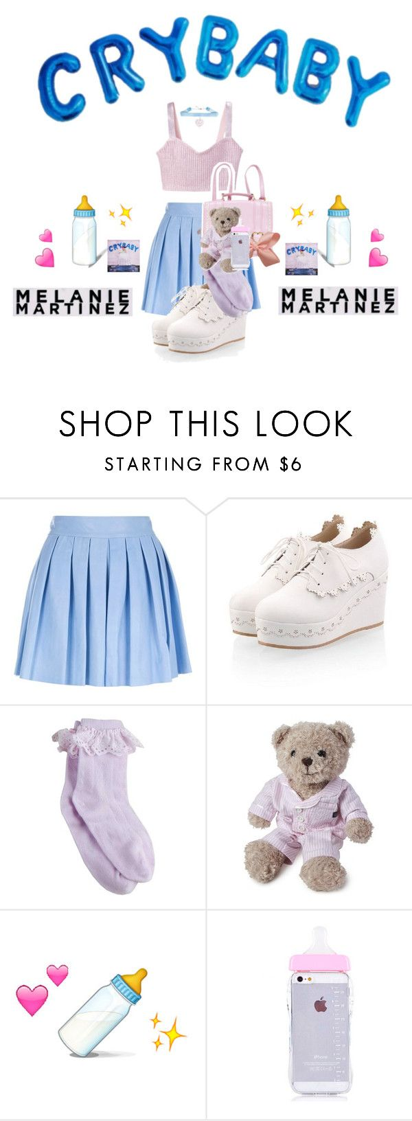 """MELANIE MARTINEZ "" by jasloves5sos on Polyvore featuring Alice + Olivia, Lexington, cute, tumblr, melaniemartinez and Crybaby"