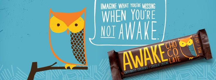 Awake Chocolate designed by Tether