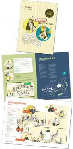 Role-play the Australian Parliament: a teacher's guide. This colourfully illustrated step-by-step guide includes the following sections: Law-making in the House of Representatives, Law-making in the Senate, Activities, Glossary. Download PDF version