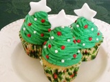 Amazing Moms - creative - craft ideas, recipes etc: Christmas Parties, Christmas Trees Cupcakes, Cupcakes Galor, Crafts Ideas, Christmas Goodies, Creative Crafts, Cute Ideas, Baking Ideas, Christmas Trees Crafts