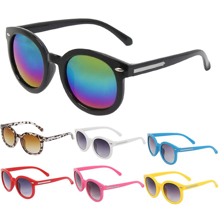 Kids round sunglasses. Range of colours $2.15 from Aliexpress