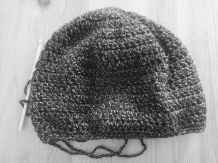 Handmade crochet hat for men..